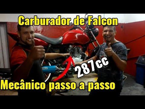 Passando carburador de falcon para mecânico - Fan 287cc