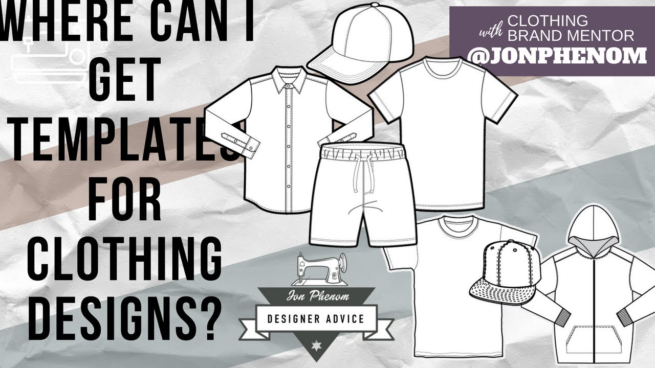 Clothing Templates For Designers | Where Can I Get Templates For Clothing Designs Youtube