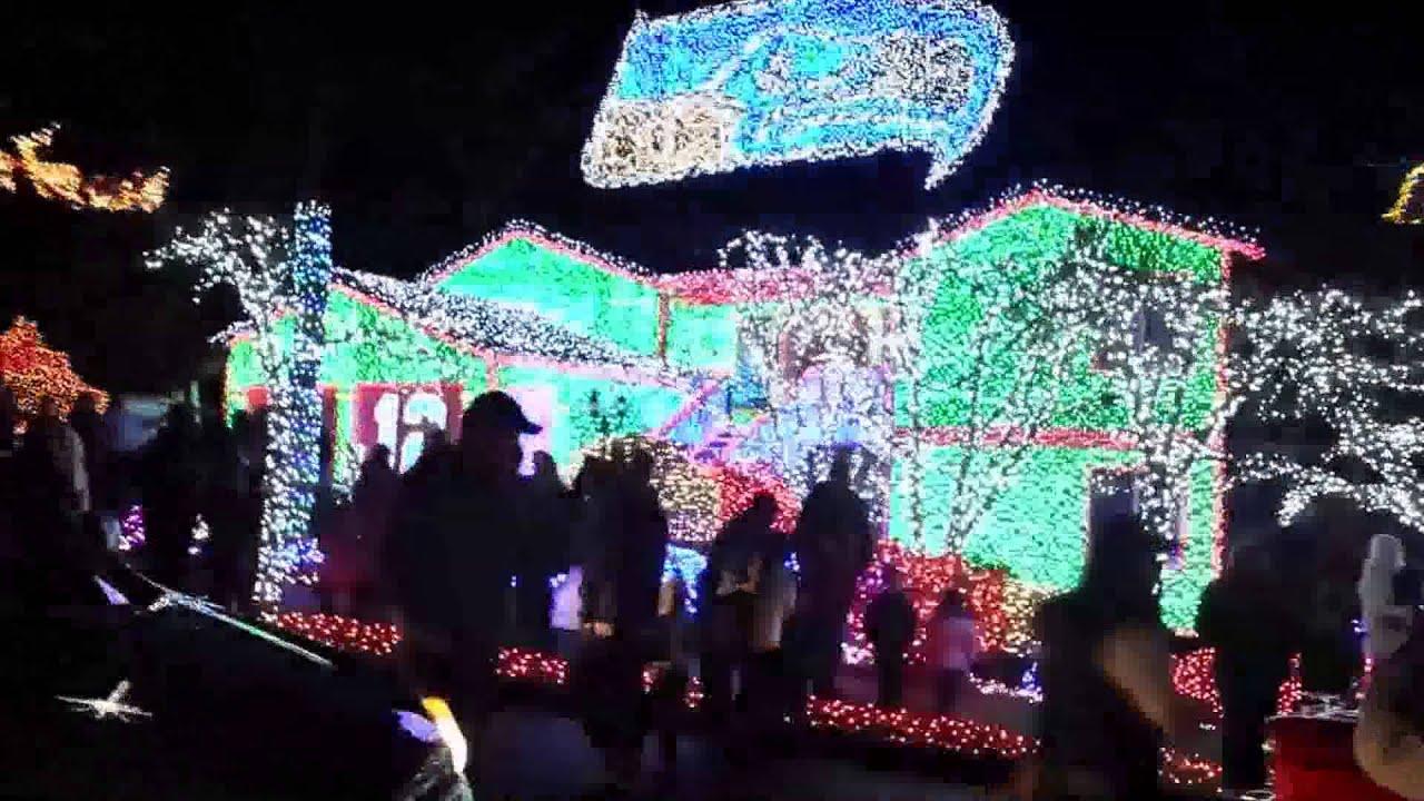 Seahawks Christmas Lights.Seattle Seahawks Christmas Lights