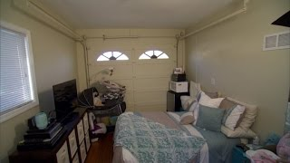Why a Single Mom of Two is Forced to Live in a Garage