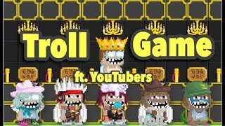 Growtopia | Troll Game ft. Cherizer, Cyanide, OVEROLL, PeterW and Zestos