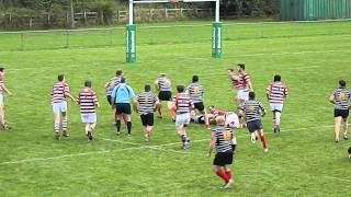 DARLINGTON RFC | MCALORUM TRY | STOLEN LINEOUT AND GOOD SUPPORT