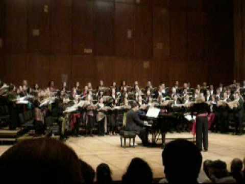 University Chorus: Zigeunerlieder Op.103 (pt.1)