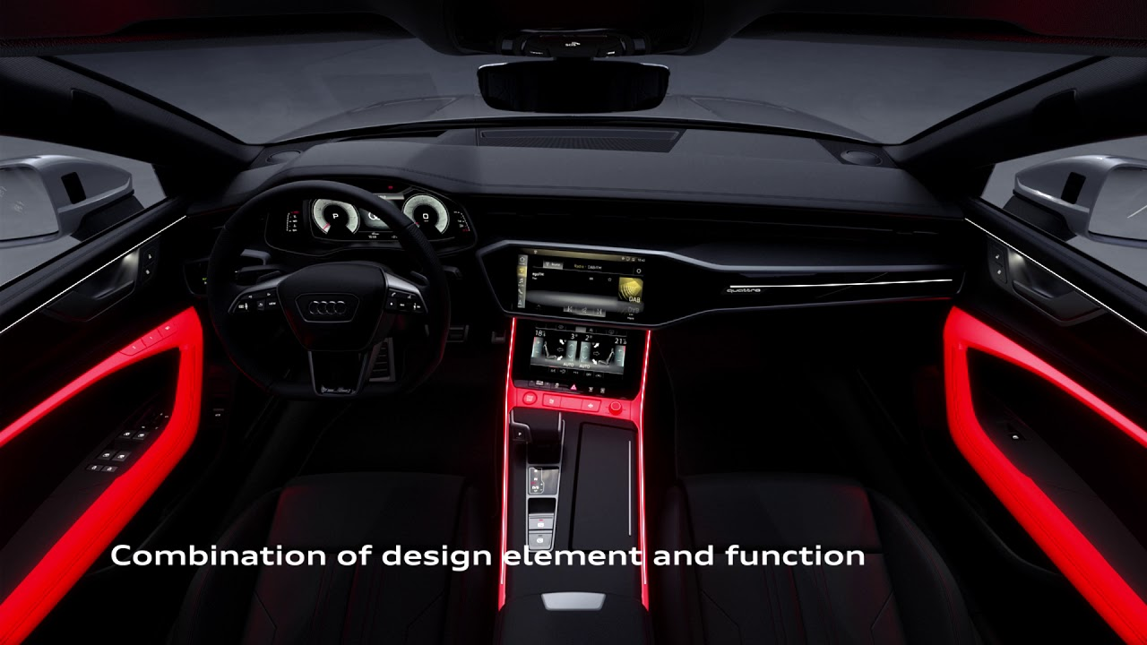 De nieuwe audi a7 interieur design youtube for Interieur udenhout