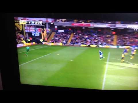 Chris Woods Wonder Goal vs Watford 2013