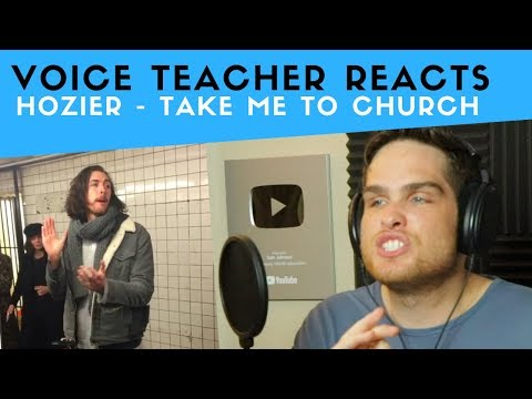 Vocal Analysis Of Hozier - Take Me To Church (Voice Teacher Reacts)