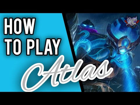 How to use Atlas || Atlas Complete Guide || Mobile Legends✓
