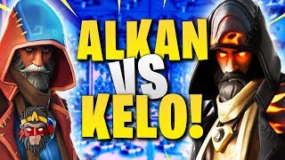 DEATH RUN ALKAN VS KELO!