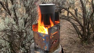 Firebox Stove Deluxe Combo Kit! The Original Bush Camping Stove, Often Imitated, Never Duplicated!