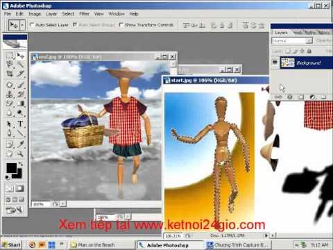 Học Photoshop Layer lắp ghép hình ảnh Bai 2.wmv