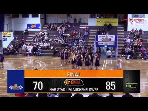 USC Rip at Brisbane Capitals Women's QBL 2017