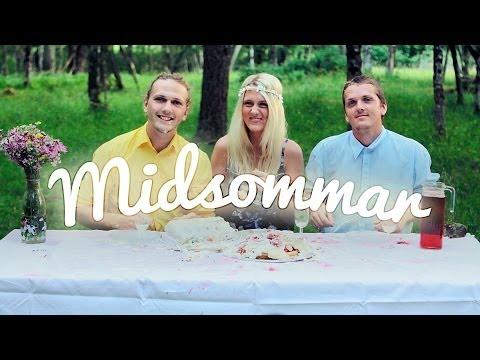 Hur man gör en midsommartårta (Swedes baking with TENS, again)