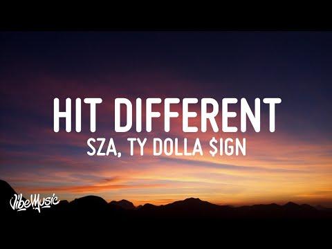 SZA – Hit Different (Lyrics) feat. Ty Dolla $ign