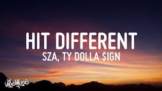 SZA - Hit Different (Lyrics) feat. Ty Dolla $ign