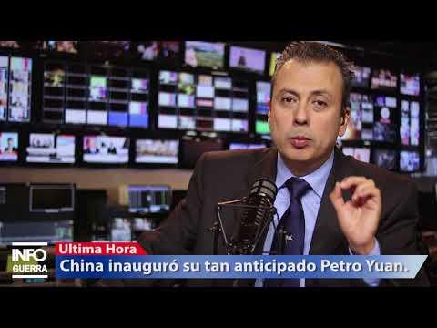 ¡Ultima Hora! China inauguró el Petro Yuan