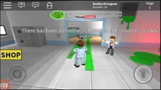 Nss muita raiva nesse jogo (Roblox escape the Zombies)