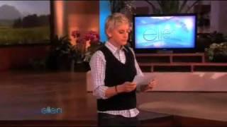 Ellen's Monologue - 03/22/10