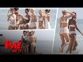 Miami Beach Got Invaded By Victoria Secret Models In Lingerie | TMZ TV