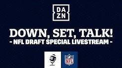 LIVE: Down, Set, Talk! Der Video-Podcast zum NFL Draft 2020 | DAZN