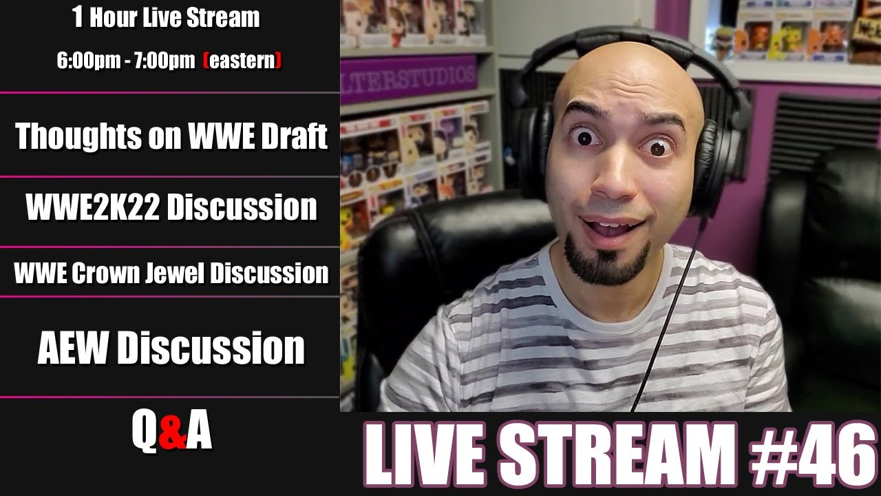 Cheap Wrestler | Live Stream #46 | WWE and AEW Discussions