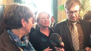 Erstes Interview nach Wahl zur Bundesrätin.