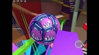 Playing mega marble run pit roblox