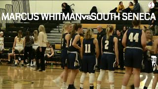 Marcus Whitman at South Seneca .::. FL1 Sports presents Girls HS Basketball 12/18/18