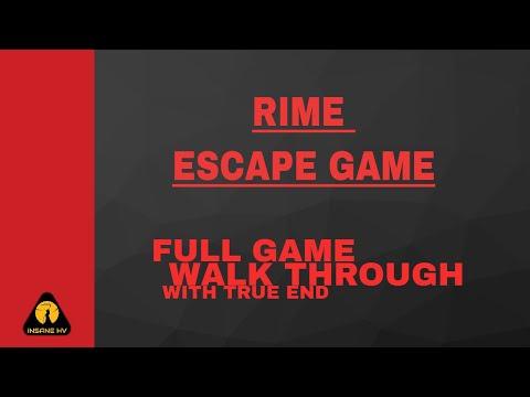 [WalkThrough] RIME Escap Game | InSane Hv |