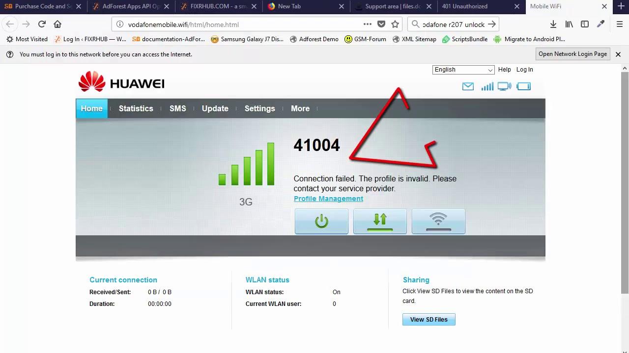 Huawei E5330 Unlock