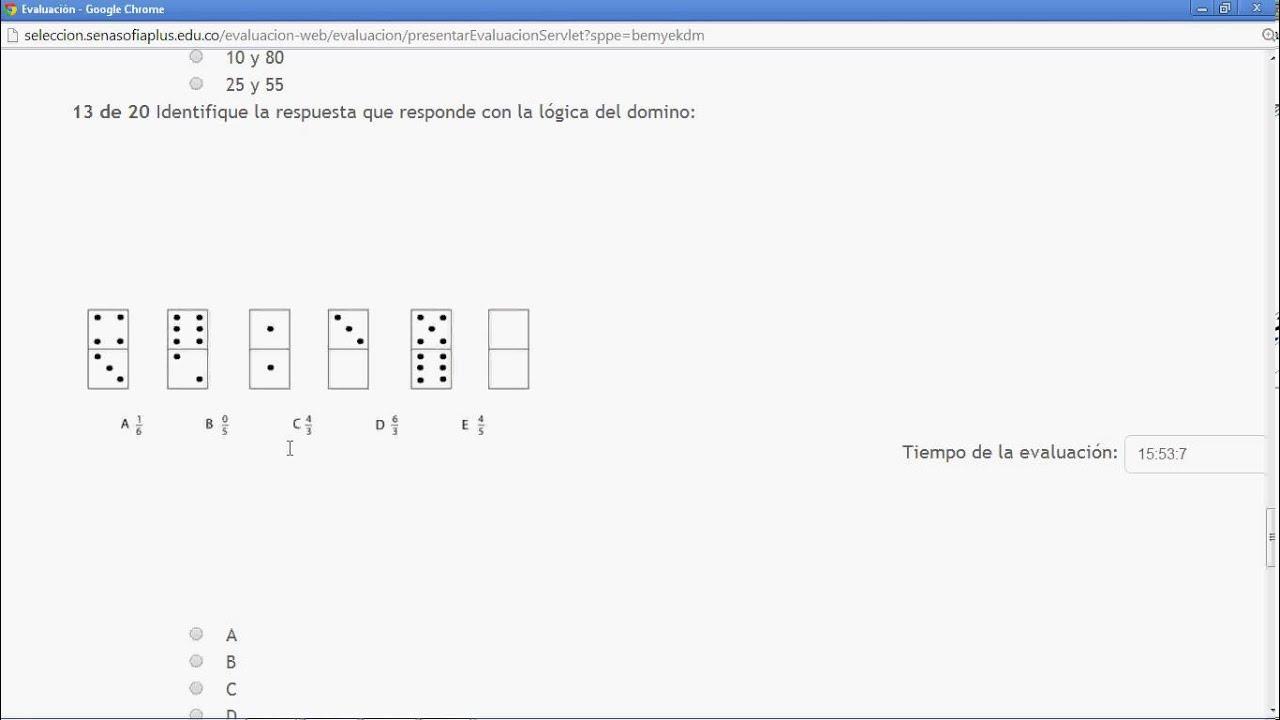 Domino Examen Acceso Sena 23 08 2013 Enfermeria Pamy Navarro