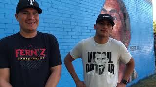 Vergil Ortiz Jr & Vergil Ortiz Sr Exclusive Interview