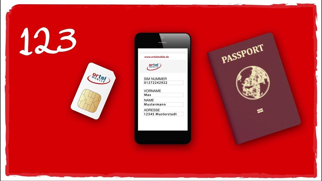 Otelo Sim Karte Aktivieren.In Drei Schritten Ganz Einfach Die Ortel Mobile Sim Karte Freischalten