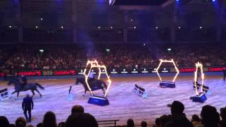#Olympia international Horse show 2014 Met Police Activity Ride