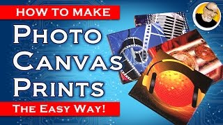 How to turn photos into Canvas Prints!