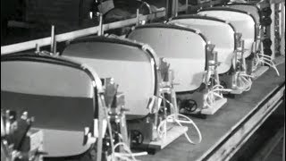 Výroba súčiastok do televízorov (1962)