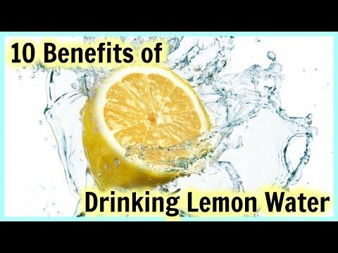 10 Beauty and Health Benefits of Drinking Lemon Water + DIY Lemon Infused Water! │