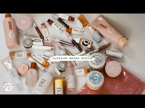 GLOSSIER REVIEW OF ALMOST EVERYTHING! 2018 thumbnail