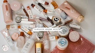 gLOSSIER REVIEW OF ALMOST EVERYTHING! 2018