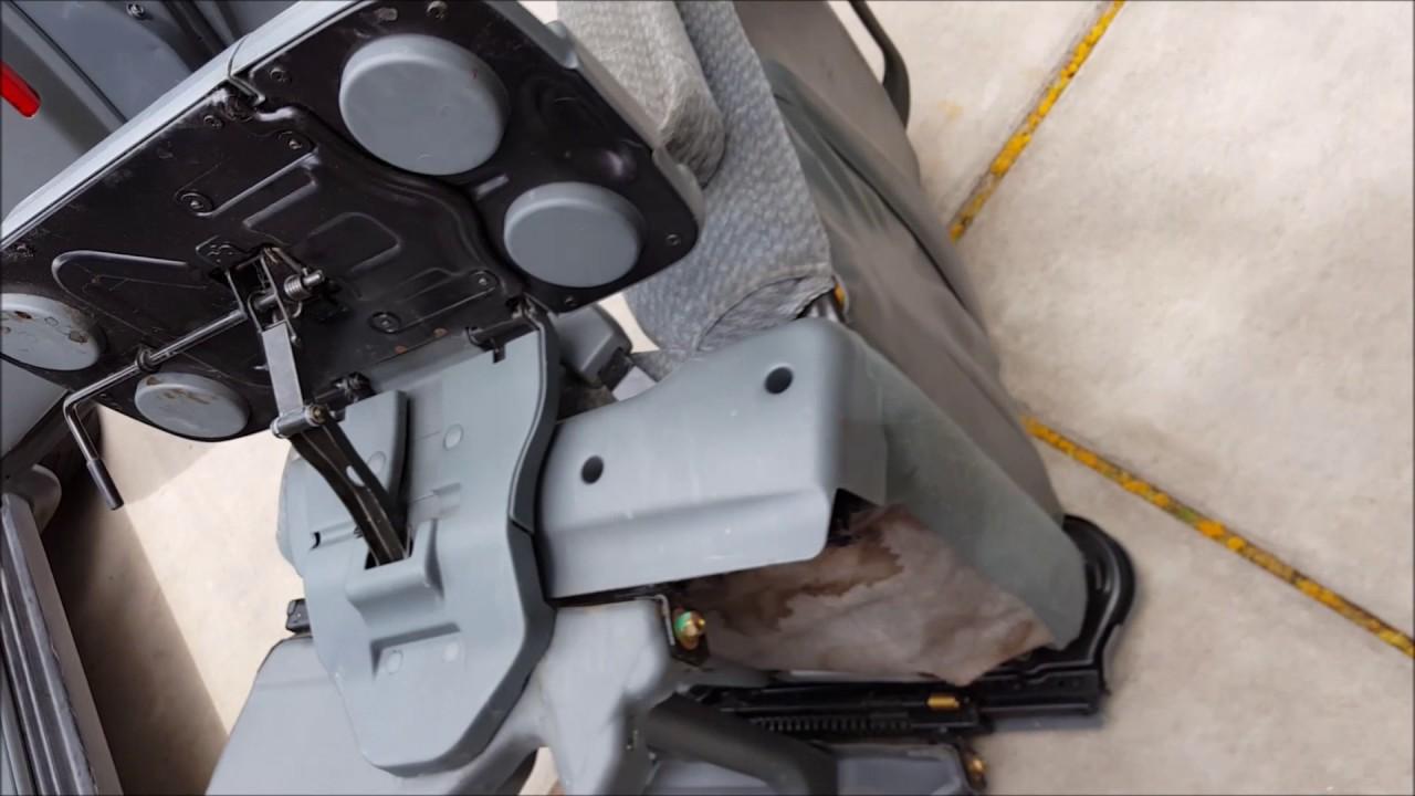 honda odyssey seat removal [ 1280 x 720 Pixel ]