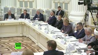 Путин на заседании Российского организационного комитета «Победа»