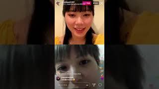 Chiaki #Mayumura #Momoka #Kinoshita #collaboration #KEEPdistance #covid19 #stayHOME 元 #nmb48 #nmb #oosaka #artist #musician #japan #名古屋 ...