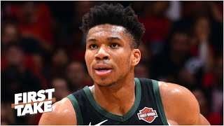 Giannis ranks 2nd on First Take's Primetime Players list