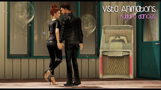 Vista Animations - Kuduro Couple Dances by Fashiowl