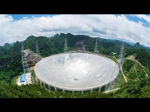 China completes the world's largest telescope to find aliens