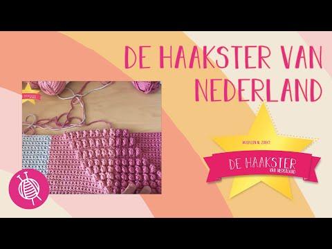 De haakSTER van Nederland | 4 Kussen | Aflevering 6