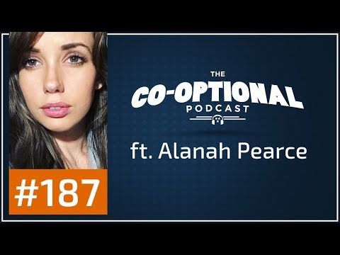 The Co-Optional Podcast Ep. 187 ft. Alanah Pearce [strong language] - September 14th, 2017