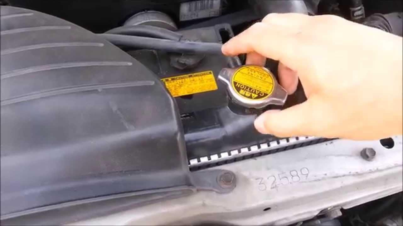 Diy Engine Coolant Change    Flush How-to