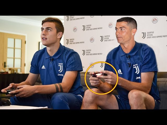 Famous Footballer Playing FIFA ft. Ronaldo, Messi, Pogba |HD