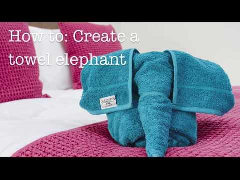 How To Make a Towel Elephant: Step-By-Step Tutorial