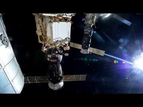 NASA/ESA ISS Space Station Livestream With Map - 28 - 2018-03-12